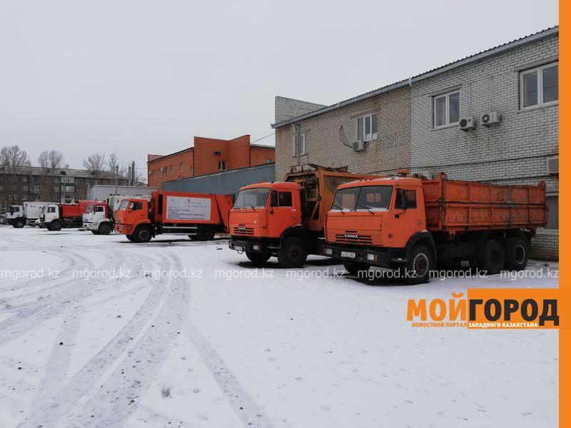 Мусоровывозящая компания в Уральске планирует обновить технику