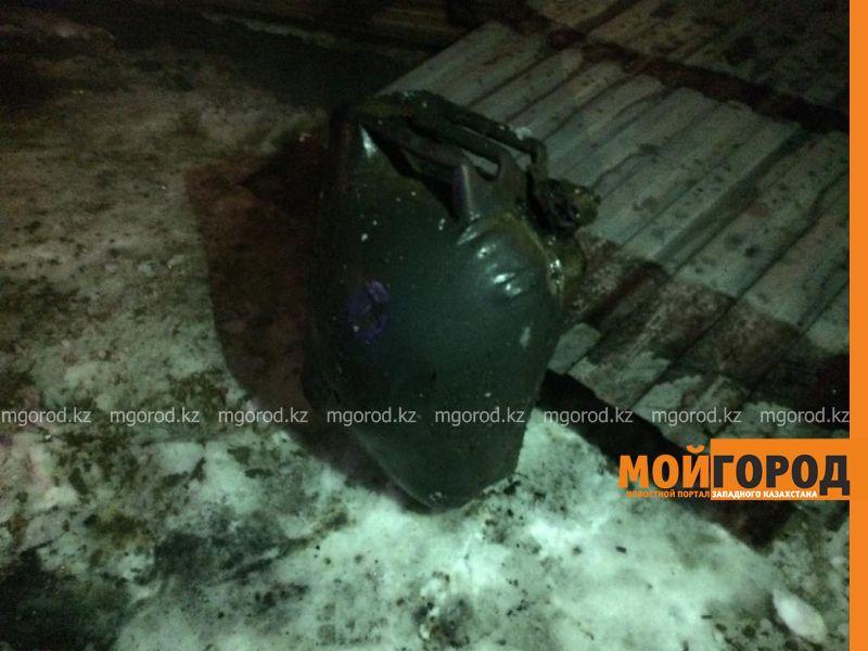 Новости Уральск - В Уральске горел гараж