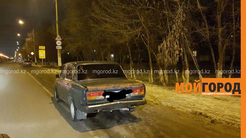 Жители Уральска за неделю угнали три авто