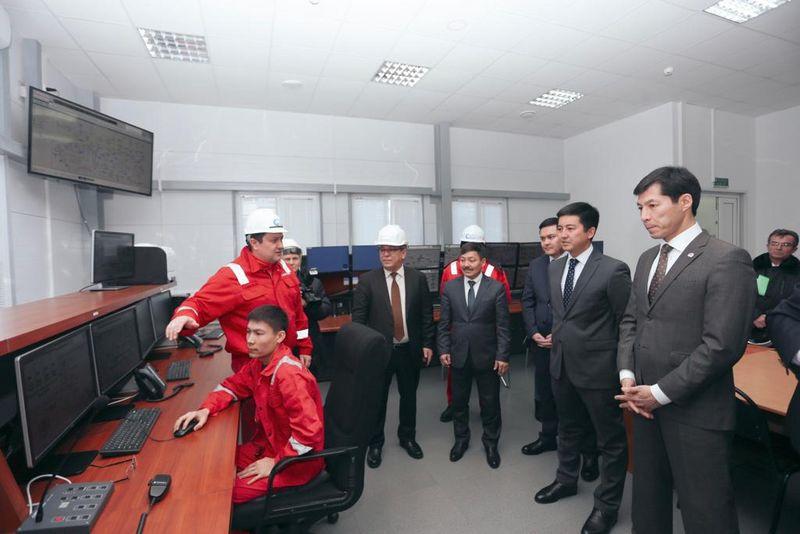 Установку по переработке газа открыли в ЗКО