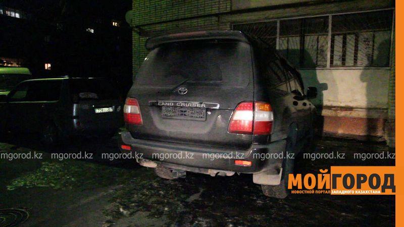 Сайгачьи рога искали силовики в Toyota Land Cruiser в Уральске (фото)