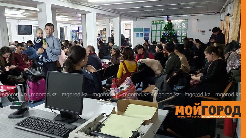 Новости Уральск - Уральский аэропорт закрыли из-за метеоусловий (фото, видео)