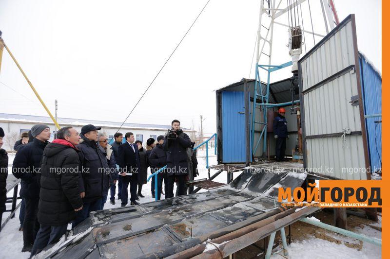 Новости Атырау - Резервуар для питьевой воды реконструируют под молодежный центр в Атырауской области