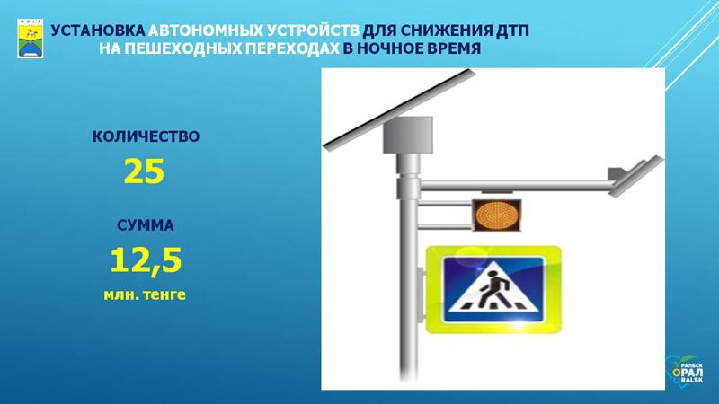 Новости Уральск - Светоотражающие макеты машин ДПС и надземные переходы: как изменится Уральск в 2020 году (фото)