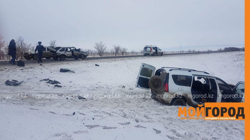 Новости Уральск - Два человека погибли в ДТП на трассе в ЗКО