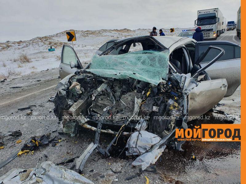 Новости Актобе - Три человека погибли в аварии на трассе Актюбинской области