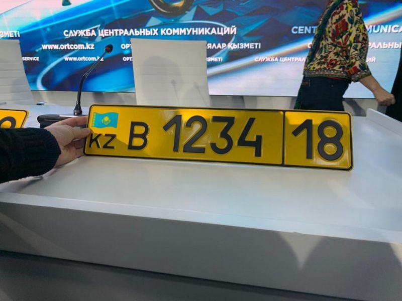 На иностранные авто в Казахстане повесят желтые номера