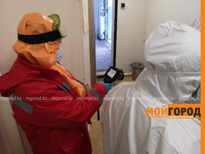 """В ЗКО будет объявлен карантин В уральском аэропорту встретили пассажира """"с подозрением на коронавирус"""" (фото)"""