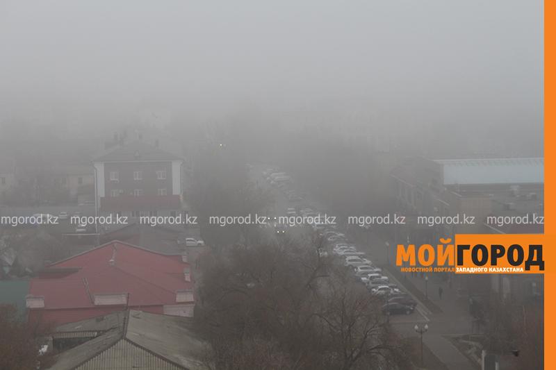 Туман и гололед ожидаются в ЗКО