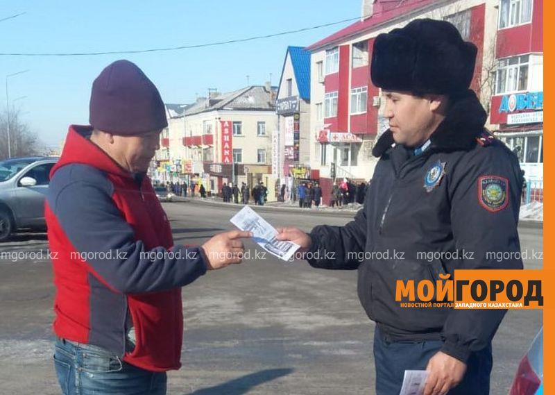 13 пьяных водителей задержали в Актюбинской области