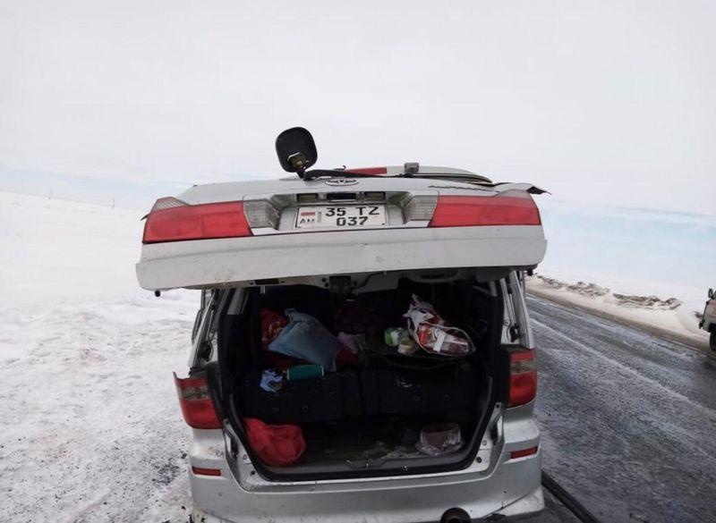 Два человека погибли в аварии в Актюбинской области (фото)