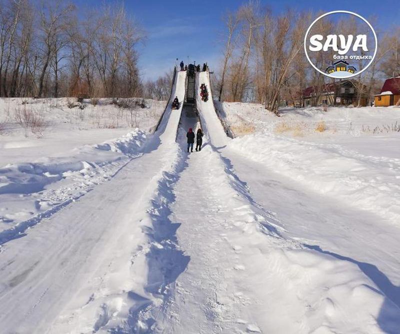 Закрой сезон зимних забав на базе отдыха «Saya»!