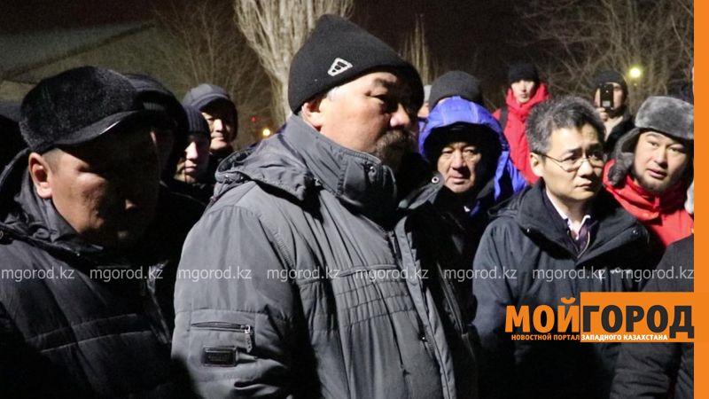 В Актюбинской области рабочие нефтяной компании устроили забастовку