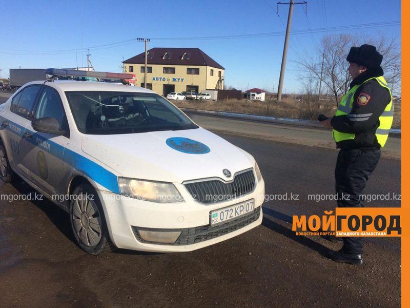Водителя первого замакима области оштрафовали в Уральске