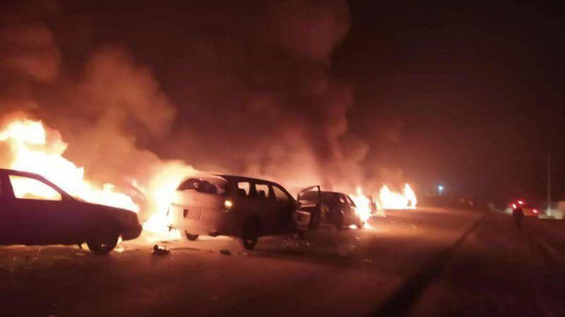 Восемь человек погибли при инциденте в Кордайском районе