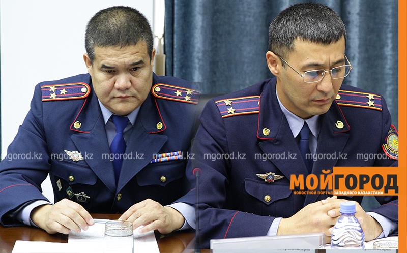 Начальник МПС ЗКО и его зам написали рапорта на отстранение от должности