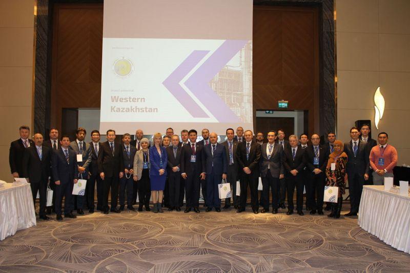 Замакима ЗКО встретился с иностранными инвесторами в Нур-Султане