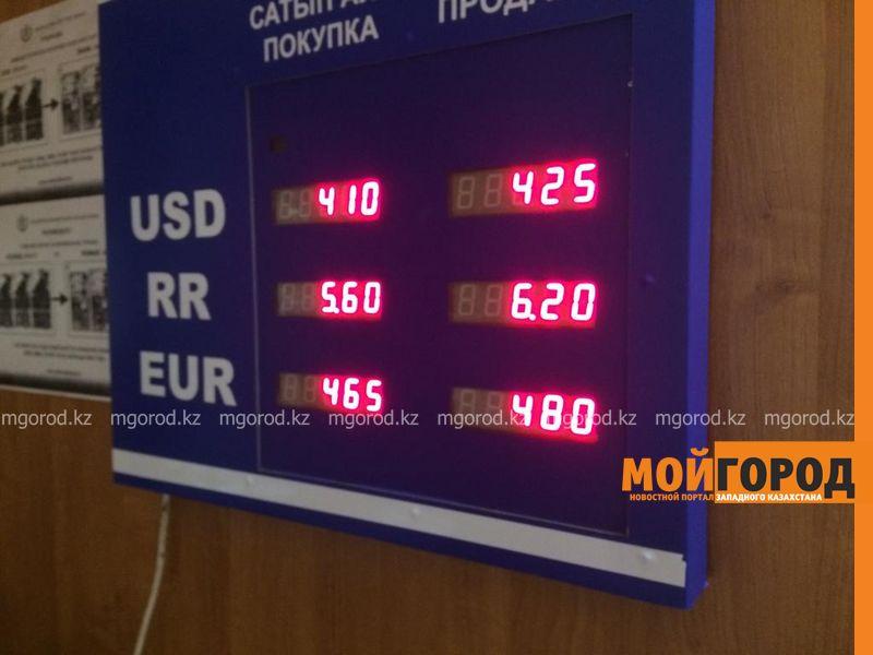 Доллар подорожал до 425 тенге в обменниках Уральска Доллар подорожал до 425 тенге в обменниках Уральска