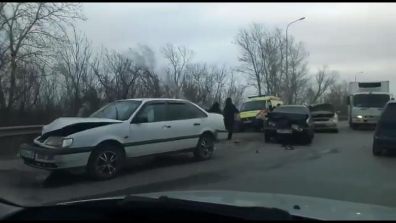 Массовое ДТП произошло в Уральске