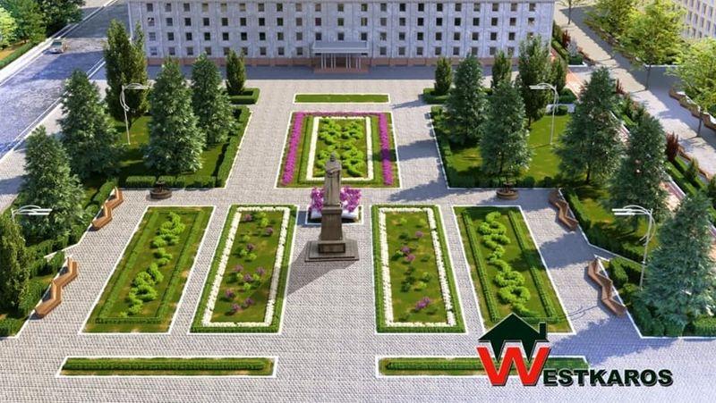 Аким Уральска рассказал, что станет с демонтированной брусчаткой с площади Абая Аким Уральска рассказал, куда денут демонтированную брусчатку с площади Абая