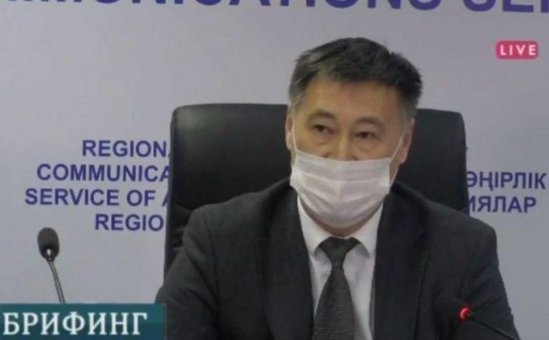 Глава облздрава Атырауской области покинул свой пост Глава облздрава Атырауской области уволился