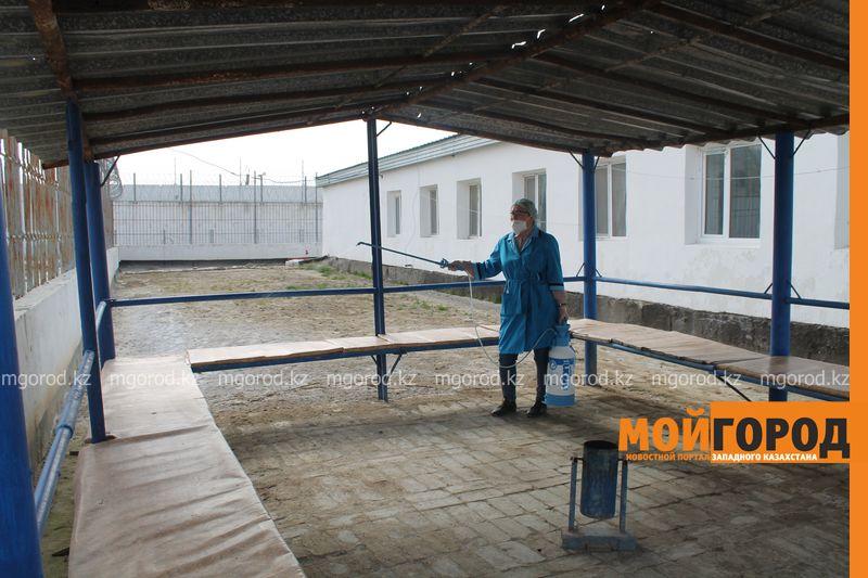 Масштабная дезинфекция от коронавируса прошла в исправительных учреждениях Атырауской области Масштабная дезинфекция от короновируса прошла в исправительных учреждениях Атырауской области