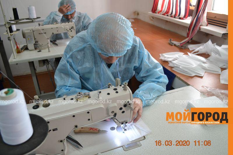 1500 масок в день шьют заключенные в Уральске 1500 масок в день шьют заключенные в Уральске