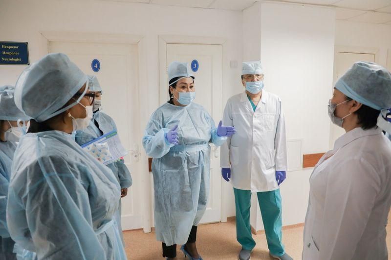 В Атырау медработники инфекционного стационара будут размещены в гостинице В Атырау медработники инфекционного стационара будут размещены в гостинице