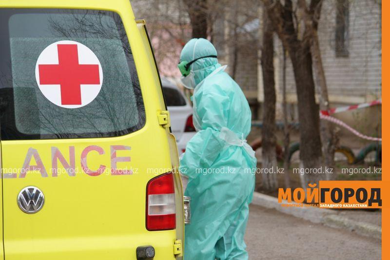 Еще у двоих сельчан в ЗКО обнаружили коронавирус Подъезд еще одного дома оцепили в Уральске