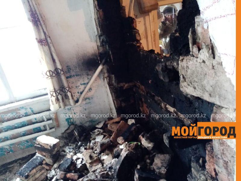 Стена дома обвалилась после хлопка газовоздушной смеси в ЗКО (фото) Стена жилого дома обвалилась после хлопка газовоздушной смеси в ЗКО