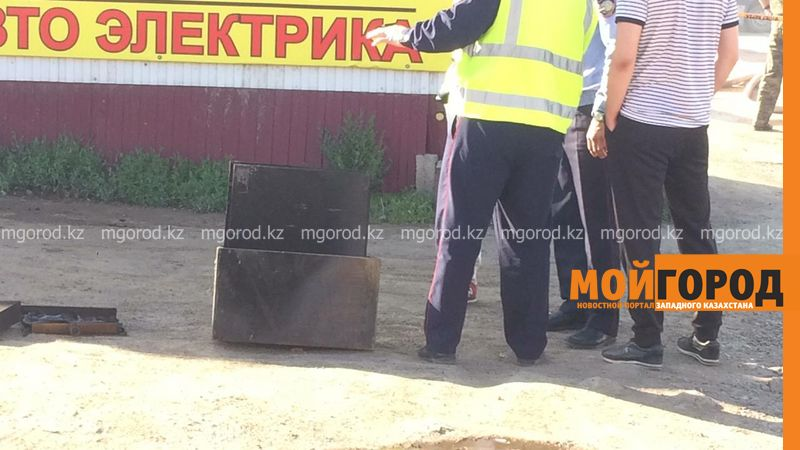 Обменный пункт с деньгами сгорел в Уральске (фото, видео) Взрыв произошел в горящем кафе в Уральске (фото, видео)