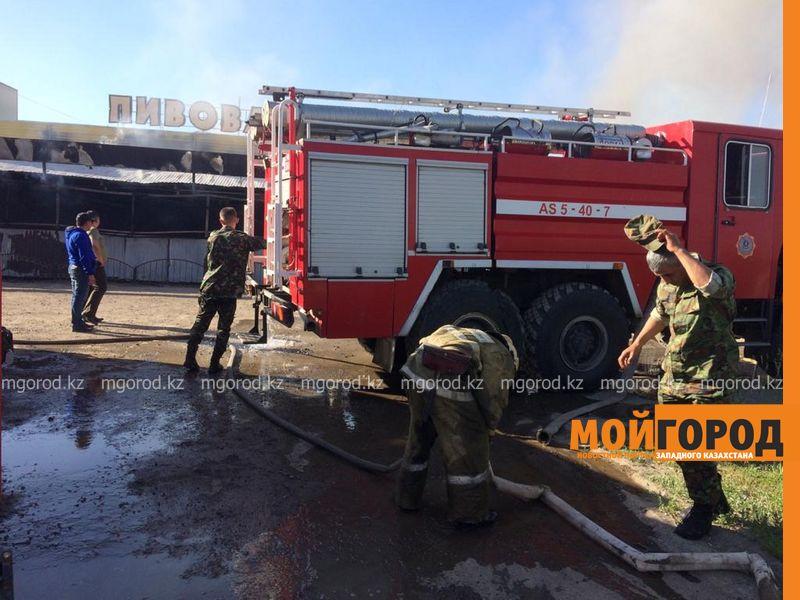 Обменный пункт с деньгами сгорел в Уральске (фото, видео) Взрыв произошел в горящем кафе в Уральске (фото,видео)