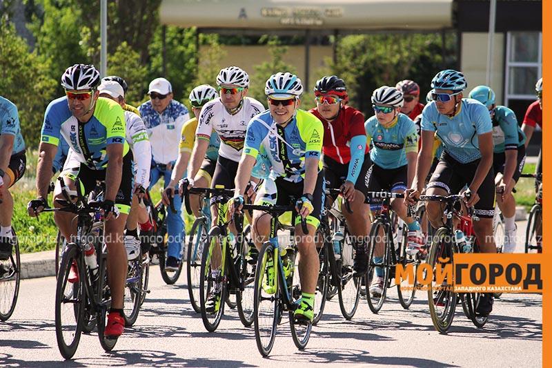 Велопробег в честь Дня Победы провели в Уральске Велопробег в честь Дня Победы провели в Уральске