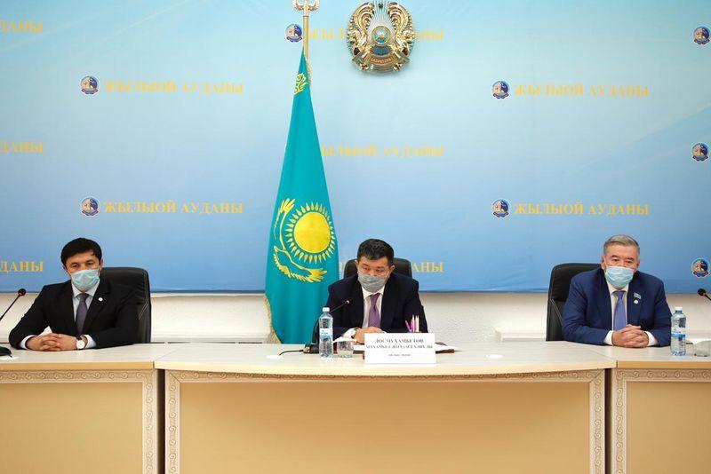 Новый аким района назначен в Атырауской области Новый аким района назначен в Атырауской области