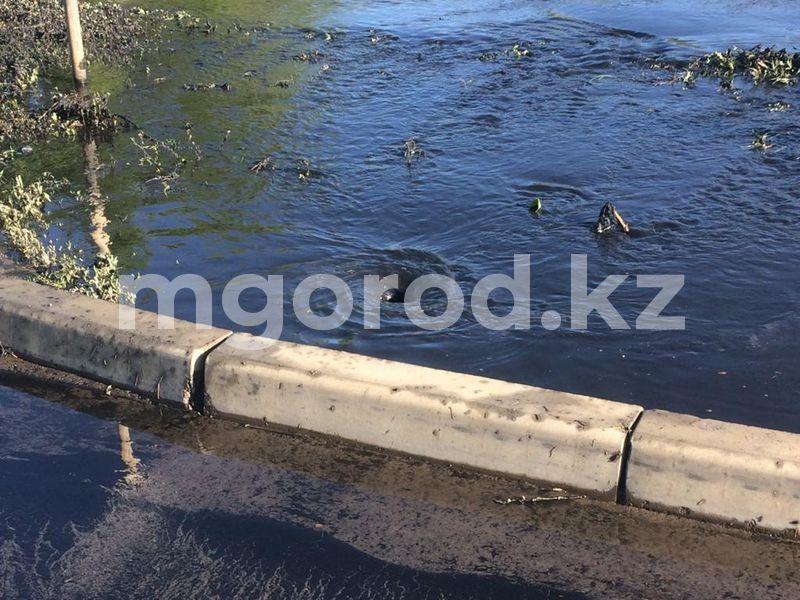 В Атырау во время земляных работ повредили водопровод Микрорайон в Уральске затопило фекалиями (фото, видео)