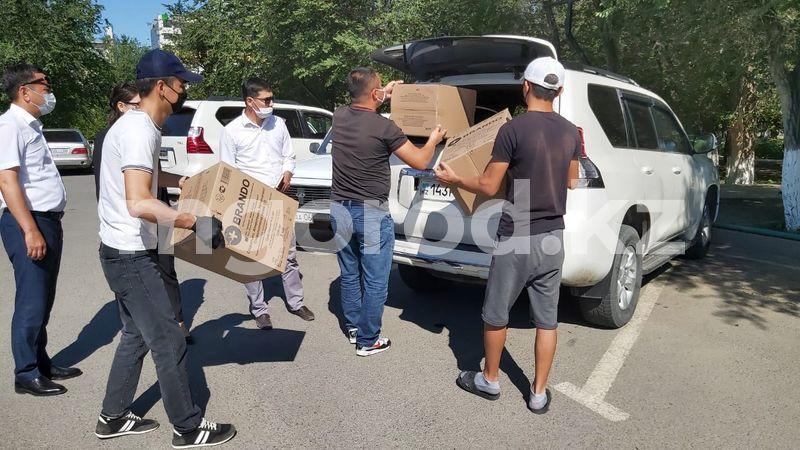 Около 3 миллионов шприцев бесплатно раздадут жителям Атырау спонсоры Около 3 миллионов шприцев бесплатно раздадут жителям Атырау спонсоры