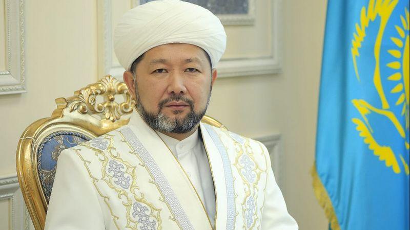 Верховный муфтий поздравил казахстанцев с Курбан айт Верховный муфтий поздравил казахстанцев с Курбан айт