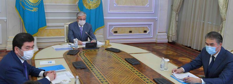 Токаев раскритиковал работу Правительства и акимов в борьбе с коронавирусом Черновик