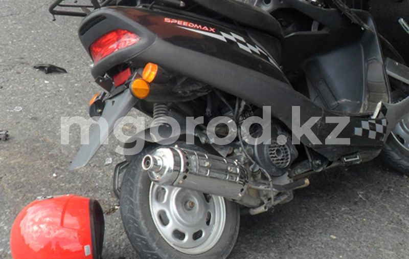 Водитель скутера погиб в ДТП в Актобе Водитель скутера погиб в ДТП в Актобе