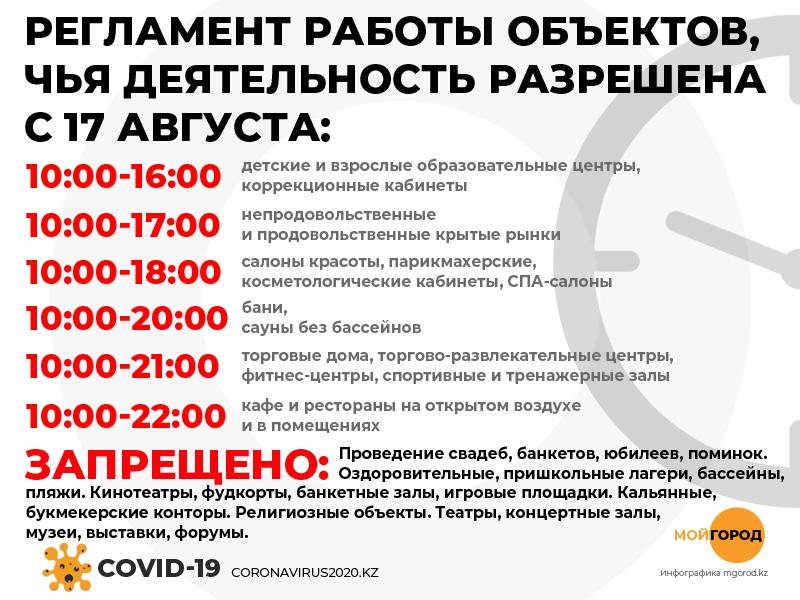 Запрет на передвижение после 23.00 сняли в Уральске