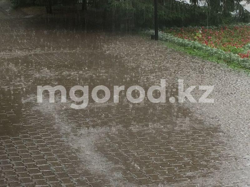 В Уральске ожидается гроза Погода на 14 августа