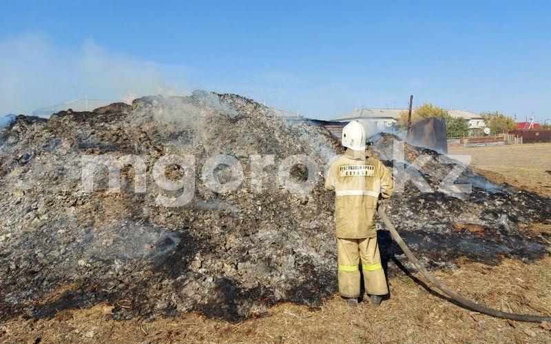 Это орудовала организованная группа: сельчане о пожаре в ЗКО Это орудовала организованная группа: сельчане о пожаре в ЗКО