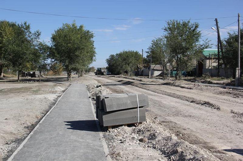 Ход строительных работ проверил аким Бурлинского района Ход строительных работ проверил аким Бурлинского района