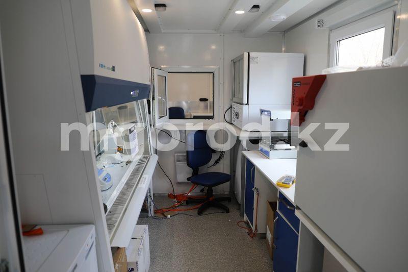 ПЦР-лаборатория на КамАЗе появилась в Атырауской области ПЦР-лаборатория на КАМАЗе появилась в Атырауской области