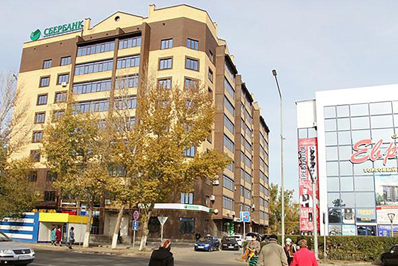 Сбербанк ждет своих клиентов в новом и комфортабельном отделении в центре Уральска Сбербанк ждет своих клиентов в новом и комфортабельном отделении в центре Уральска