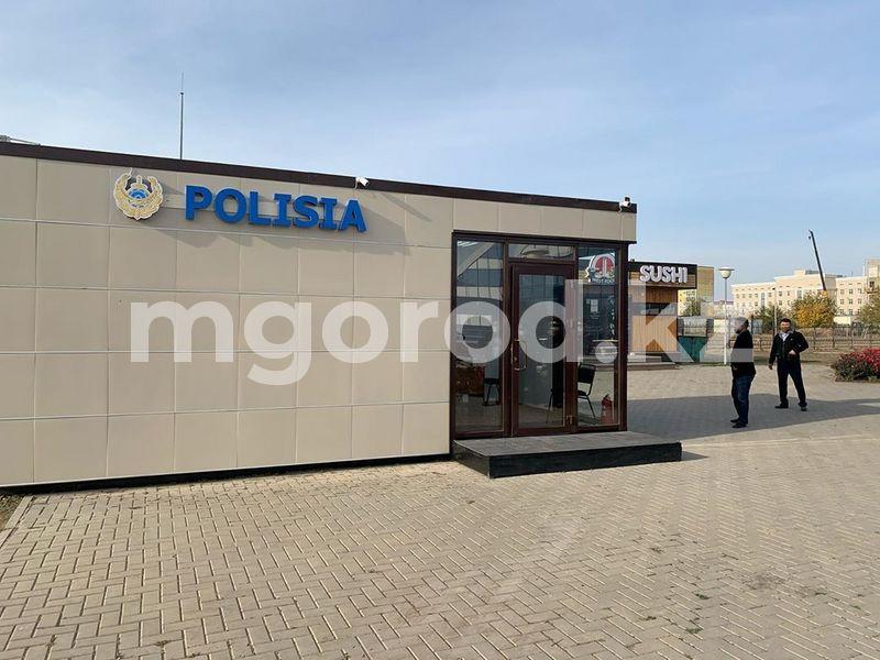Новый мобильный полицейский стационар открылся в Уральске Не трогать! Новый мобильный полицейский стационар открылся в Уральске