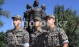Тройняшки служат в воинской части Уральска (фото)