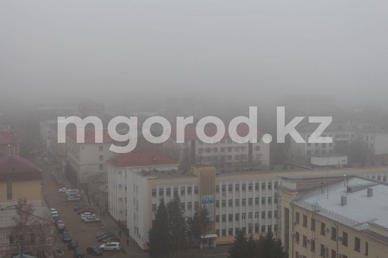 Туман и сильный ветер ожидаются в ЗКО В ЗКО ожидается туман и сильный ветер