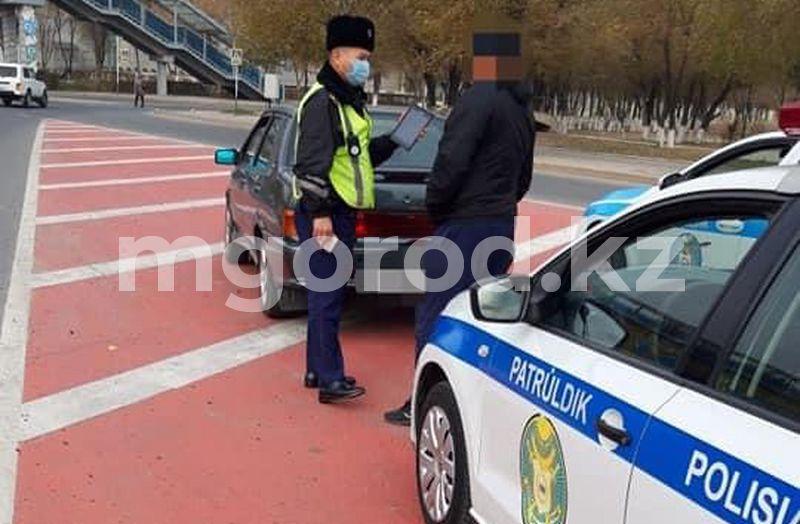Более тысячи водителей из Атырау нарушили ПДД за неделю Более тысячи водителей из Атырау нарушили ПДД за неделю