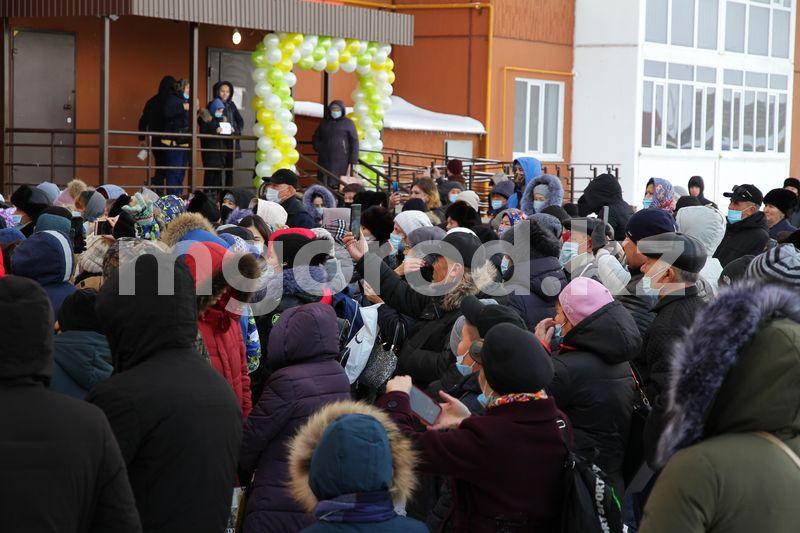 Новый девятиэтажный дом сдали в эксплуатацию в Уральске Новый девятиэтажный новый сдали в эксплуатацию в Уральске
